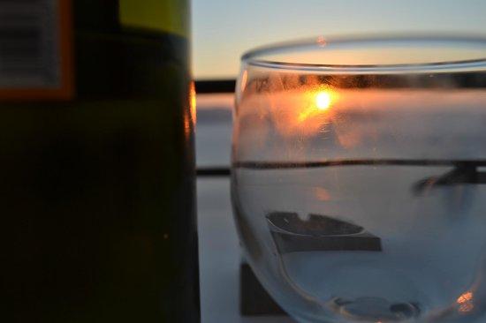 Villa Renos: sunset!