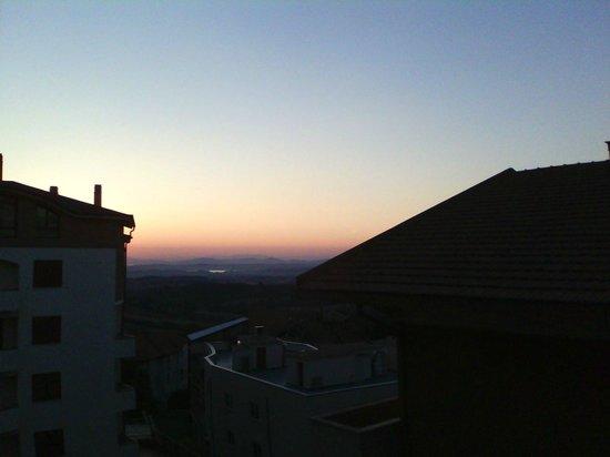 Hermitage Hotel: Alba a Chianciano vista dall'hotel