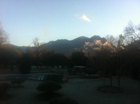 Hotel Pucon Green Park: Vista desde la habitación