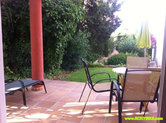La Pergola: Our private terrace