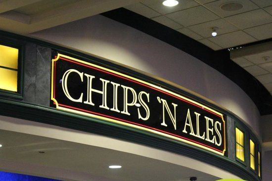 Riverwind Casino : Head over to Chips 'N Ales for delicious dining with an authentic Olde England flavor.