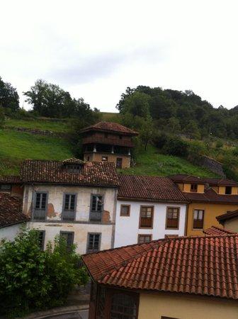 Gran Hotel Las Caldas: Vistas desde la habitación
