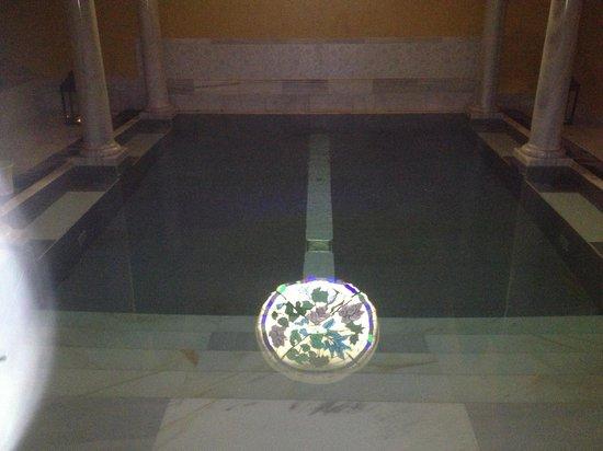 Gran Hotel Las Caldas: Sala de las columnas