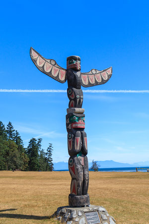 Nanaimo, Canada: 1st Nations Totem
