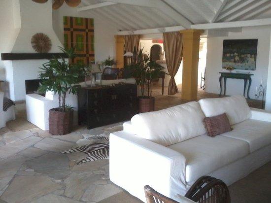 Vila D'este: sala de estar