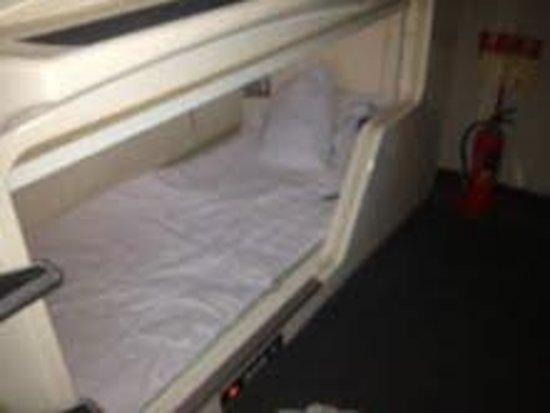 Hotel Nihonbashi Villa: capsule bed