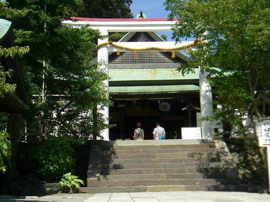 Shrine of Kamakuragu: jinja