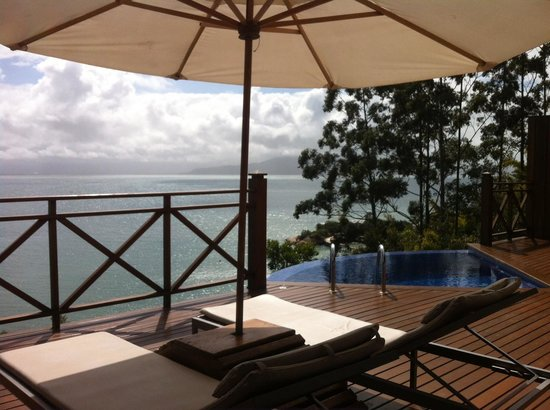 Ponta dos Ganchos Exclusive Resort: view from our bungalow terrace