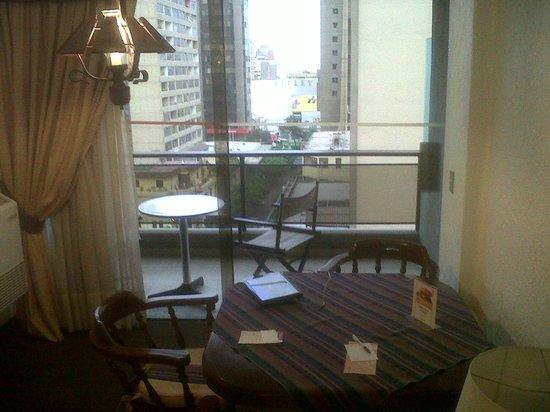 El Condado Miraflores Hotel & Suites: Balcon