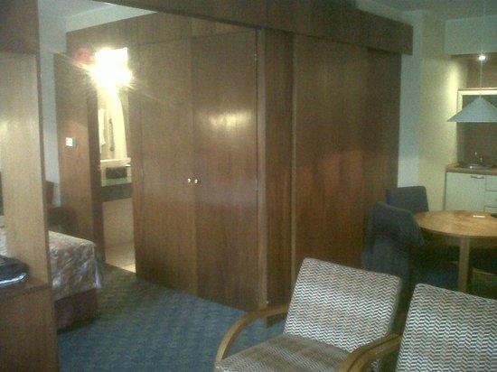 Garden Suites: armario empotrado