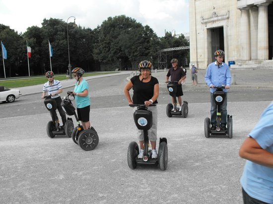 City Segway Tours Munich: In Practice