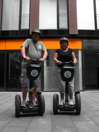 City Segway Tours Munich: Safe back at base