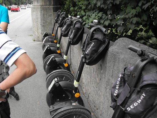 City Segway Tours Munich: At rest