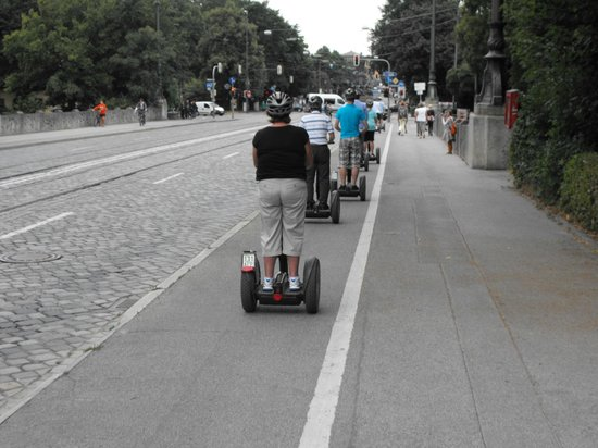 City Segway Tours Munich: Follow the leader
