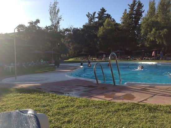 Ayre Hotel Cordoba: piscina al tramonto