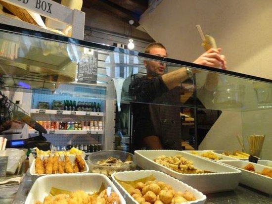 Batti Batti Friggitoria : the food selection