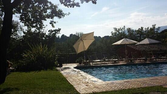 Hotel Cantemerle Spa & Restaurant: veduta della piscina