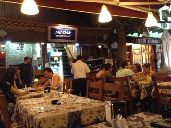 meydan restaurant-kaş