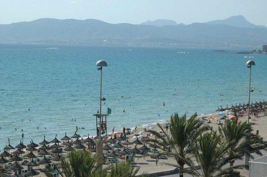 Playa de Palma El Arenal : bonita y sin agobios