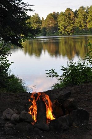 Mew Lake Campground: Campsite