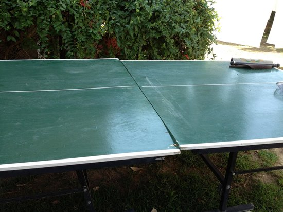 Semoris Hotel: Table de Ping pong
