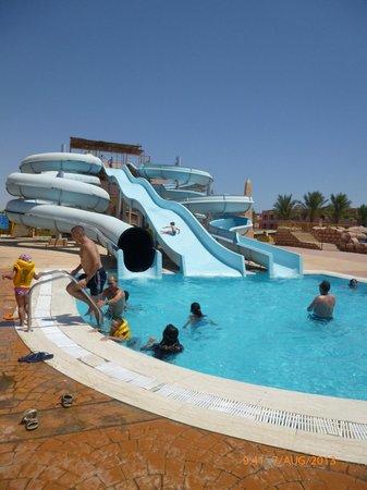 Parrotel Aqua Park: water slides