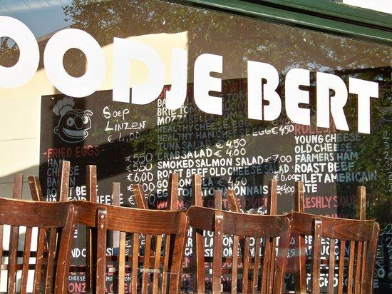 Broodje Bert: menu board