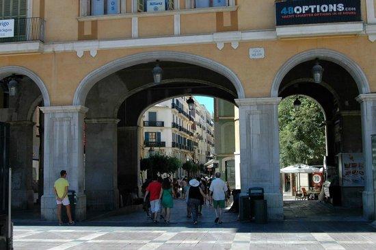 Placa Major: plaza mayor