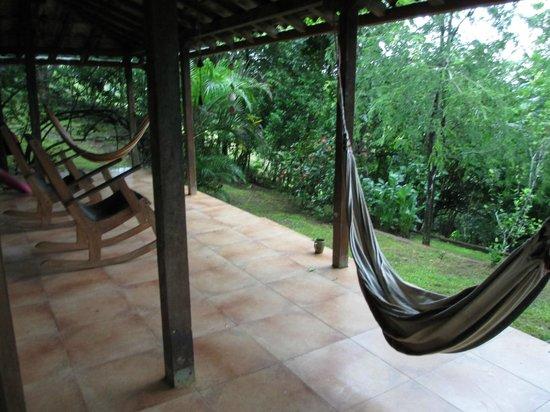 Eco Venao: Here is where you kick back