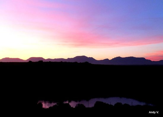 Garden Route Game Lodge: Sunset
