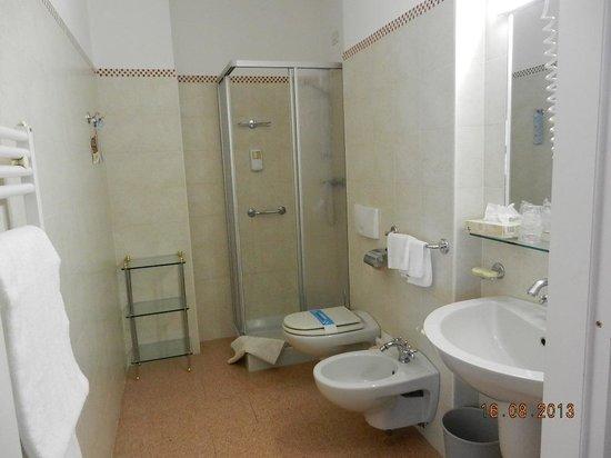 Hotel Pallanza: Salle de bains
