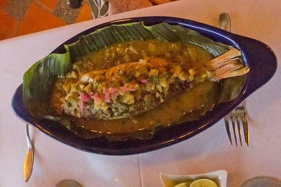 Restaurante Mar y Cielo: pescado en tailla