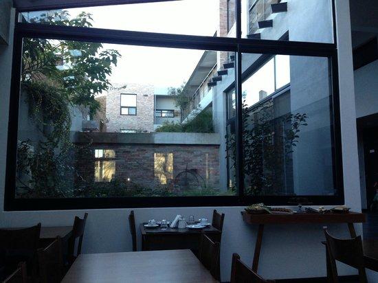 Posada Las Terrazas: Vista do jardim interno
