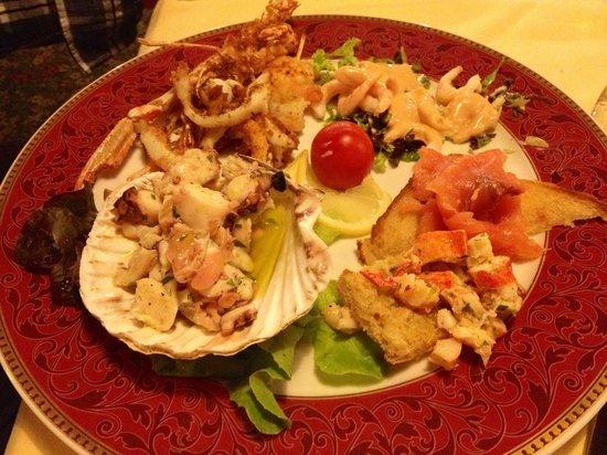 Parc Hotel: Uno dei piatti del ristorante