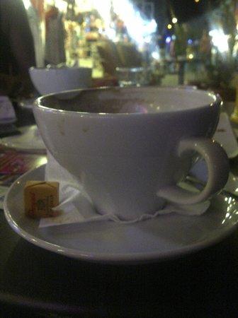 Latika Boutique Cafe: Big cup