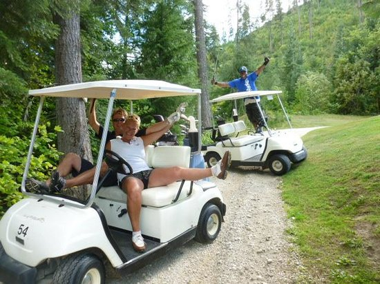 Kahler Glen Golf & Ski Resort: Too much fun!