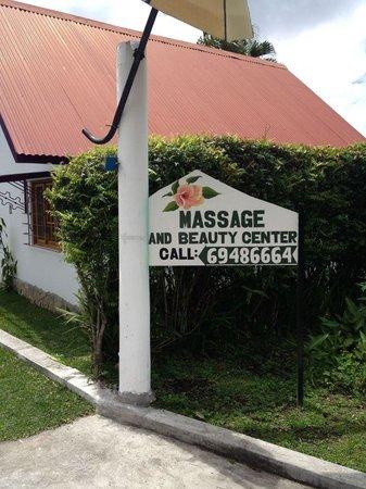 Isla Verde Spa: The sign