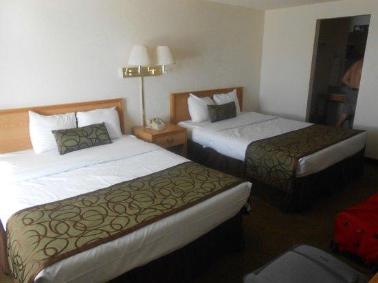 Bryce View Lodge: notre chambre au rez de chaussée