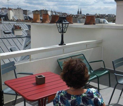 MARAIS HOme Hotel: Ho Marais roof terrace