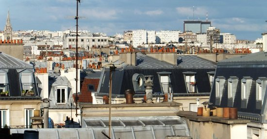 MARAIS HÔme Hotel : View from the roof terrace
