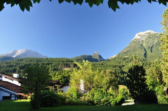 Best Western Plus Berghotel Rehlegg: View from our room