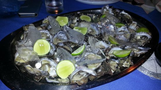 Luna House Malindi: cena particolare a base di ostriche