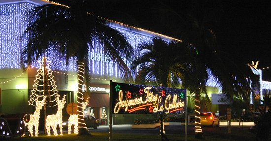 Galleria Commercial Center: Holiday pic