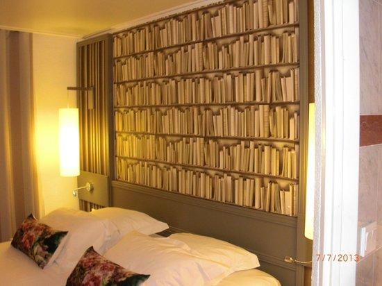Hotel America: particolare della stanza