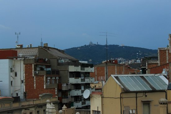 Hotel Aranea: View from rooftop