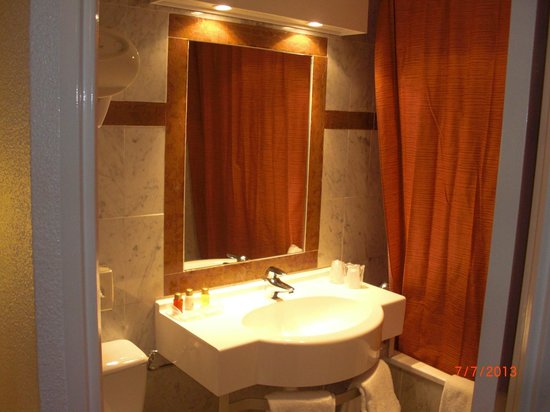 HOTEL AMERICA : bagno