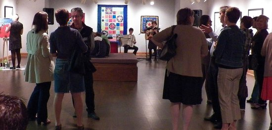 Florenceville-Bristol, Canada: Exhibit openings are usually on Thursday evenings
