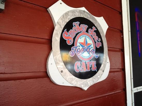 Smokey Joe's Texas Cafe: Smokey Joes logo