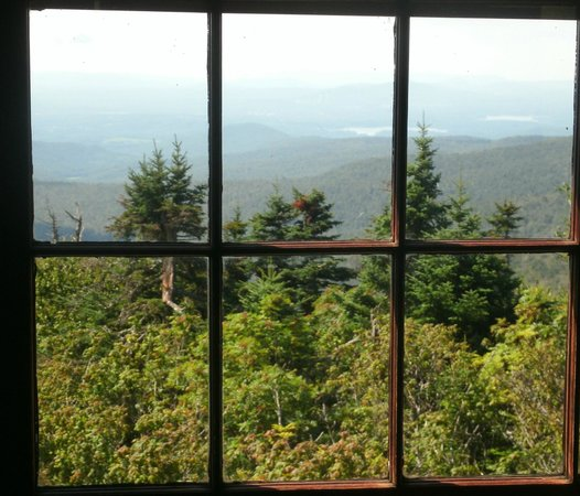 Adams, MA: View from lodge