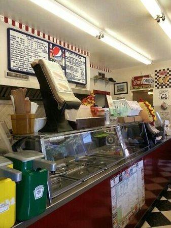 Coney Island Boardwalk: inside the hot dog
